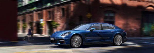 2019 Porsche Panamera blue